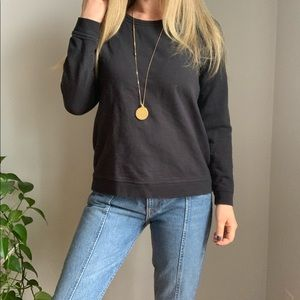 Everlane crewneck sweatshirt s small black